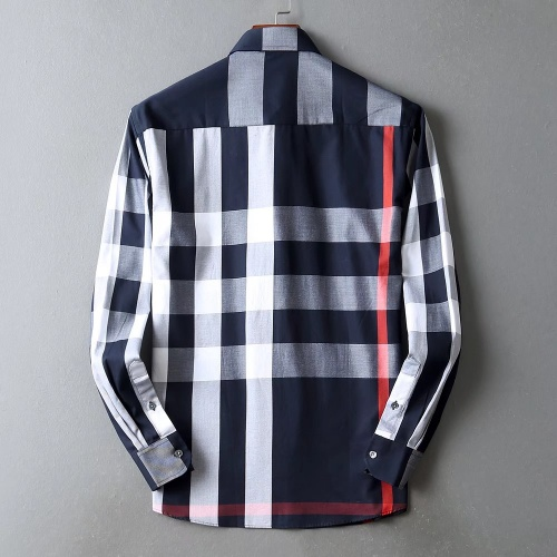 Replica Burberry Shirts Long Sleeved For Men #842538 $42.00 USD for Wholesale