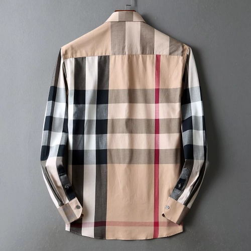 Replica Burberry Shirts Long Sleeved For Men #842539 $42.00 USD for Wholesale