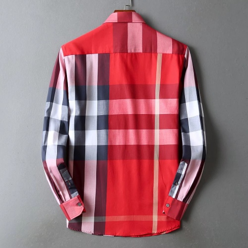 Replica Burberry Shirts Long Sleeved For Men #842540 $42.00 USD for Wholesale