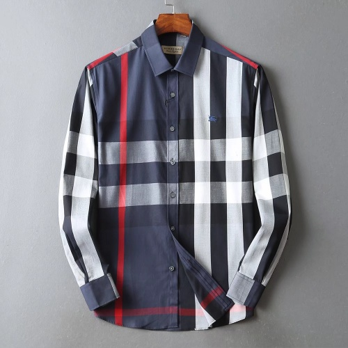 Burberry Shirts Long Sleeved For Men #842541 $42.00 USD, Wholesale Replica Burberry Shirts