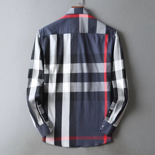 Replica Burberry Shirts Long Sleeved For Men #842541 $42.00 USD for Wholesale