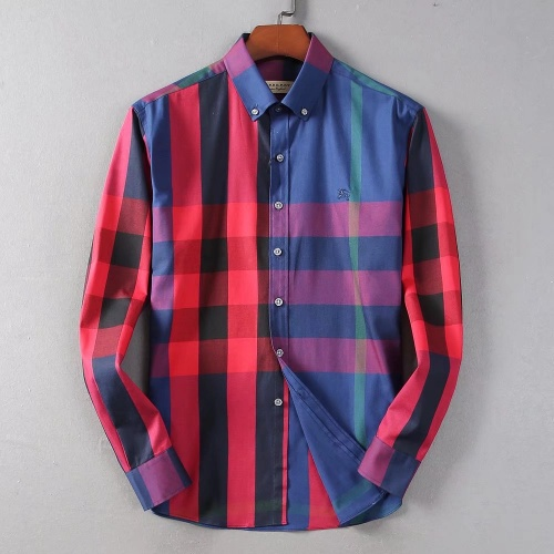 Burberry Shirts Long Sleeved For Men #842542