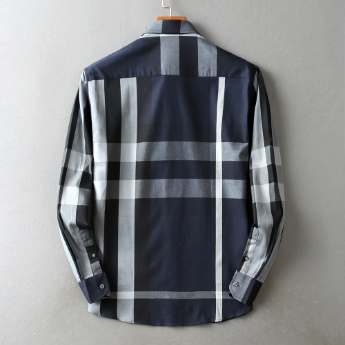Replica Burberry Shirts Long Sleeved For Men #842544 $42.00 USD for Wholesale