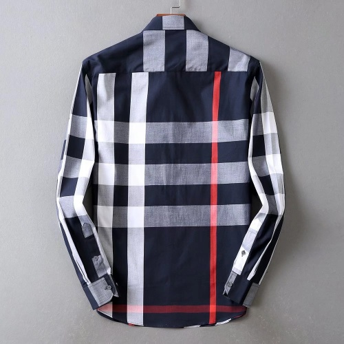 Replica Burberry Shirts Long Sleeved For Men #842545 $42.00 USD for Wholesale