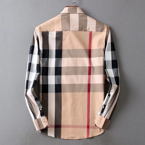 Replica Burberry Shirts Long Sleeved For Men #842546 $42.00 USD for Wholesale