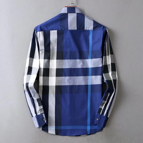 Replica Burberry Shirts Long Sleeved For Men #842547 $42.00 USD for Wholesale