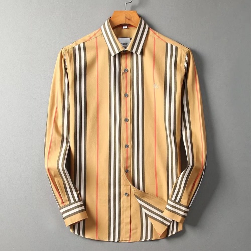 Burberry Shirts Long Sleeved For Men #842548