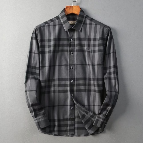 Burberry Shirts Long Sleeved For Men #842550 $42.00 USD, Wholesale Replica Burberry Shirts