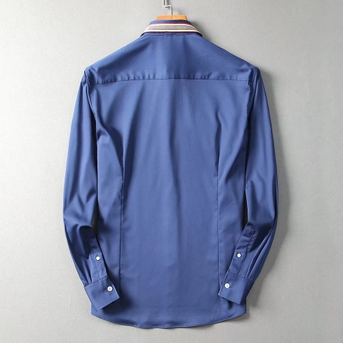 Replica Burberry Shirts Long Sleeved For Men #842551 $42.00 USD for Wholesale