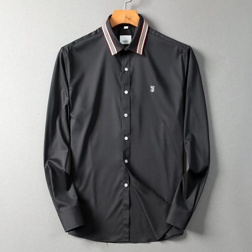 Burberry Shirts Long Sleeved For Men #842552 $42.00 USD, Wholesale Replica Burberry Shirts