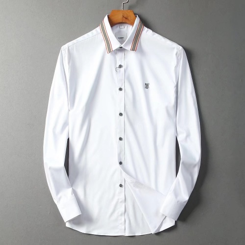 Burberry Shirts Long Sleeved For Men #842553 $42.00 USD, Wholesale Replica Burberry Shirts