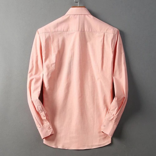 Replica Burberry Shirts Long Sleeved For Men #842556 $42.00 USD for Wholesale