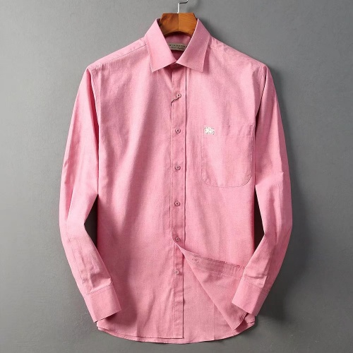Burberry Shirts Long Sleeved For Men #842557 $42.00 USD, Wholesale Replica Burberry Shirts