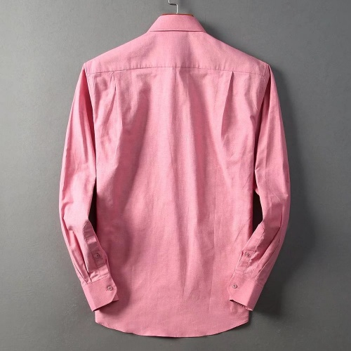 Replica Burberry Shirts Long Sleeved For Men #842557 $42.00 USD for Wholesale