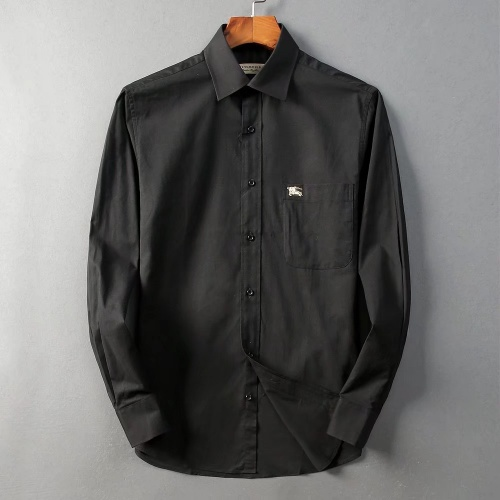 Burberry Shirts Long Sleeved For Men #842558 $42.00 USD, Wholesale Replica Burberry Shirts