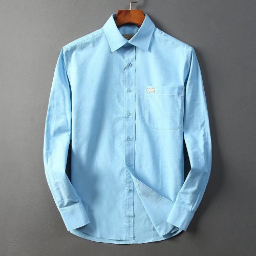 Burberry Shirts Long Sleeved For Men #842559 $42.00 USD, Wholesale Replica Burberry Shirts