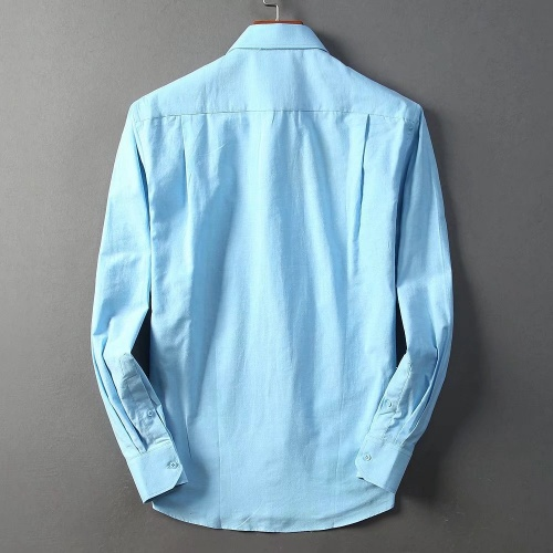Replica Burberry Shirts Long Sleeved For Men #842559 $42.00 USD for Wholesale
