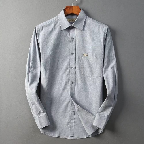Burberry Shirts Long Sleeved For Men #842560 $42.00 USD, Wholesale Replica Burberry Shirts