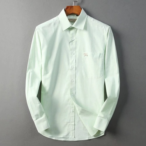 Burberry Shirts Long Sleeved For Men #842563 $42.00 USD, Wholesale Replica Burberry Shirts