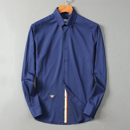 Christian Dior Shirts Long Sleeved For Men #842566