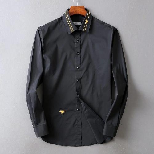 Christian Dior Shirts Long Sleeved For Men #842570