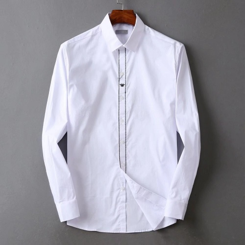 Christian Dior Shirts Long Sleeved For Men #842572