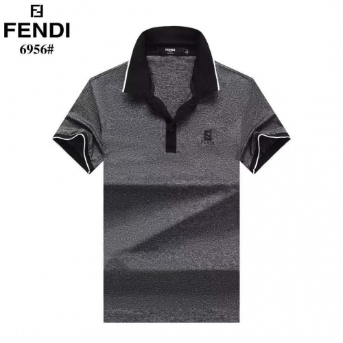 Fendi T-Shirts Short Sleeved For Men #842656