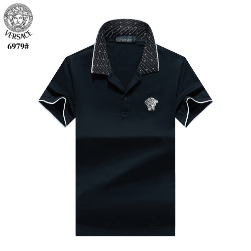 Versace T-Shirts Short Sleeved For Men #842663 $27.00 USD, Wholesale Replica Versace T-Shirts