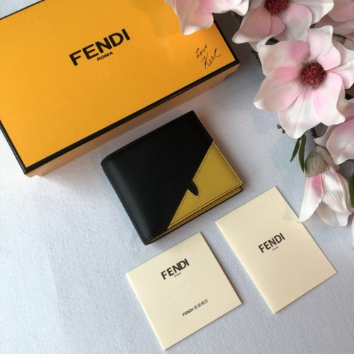 Fendi AAA Quality Wallet For Men #842672