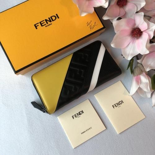 Fendi AAA Quality Wallet For Men #842674