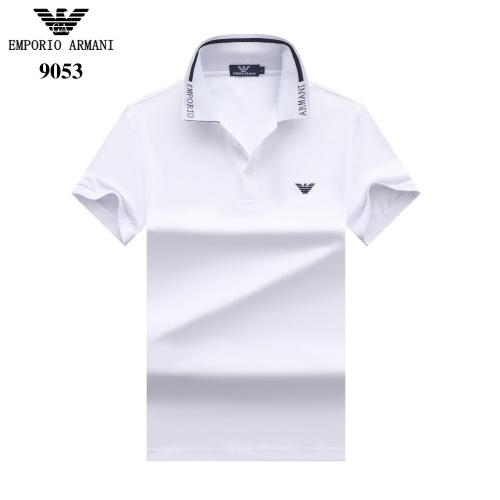 Armani T-Shirts Short Sleeved For Men #842685