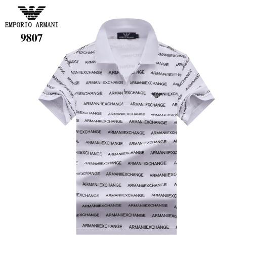 Armani T-Shirts Short Sleeved For Men #842688