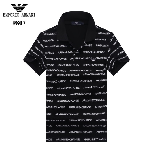 Armani T-Shirts Short Sleeved For Men #842690