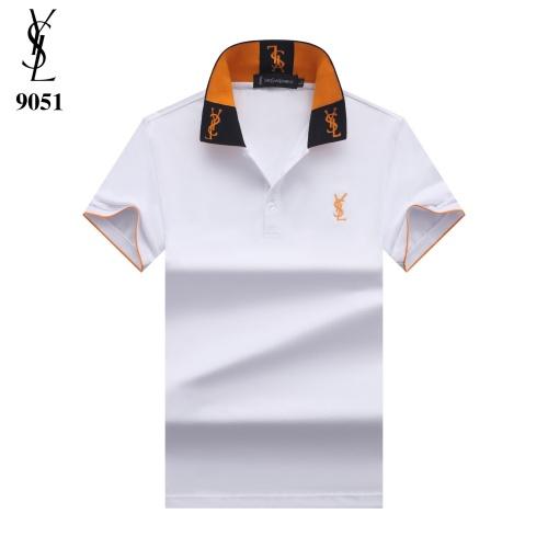 Yves Saint Laurent YSL T-shirts Short Sleeved For Men #842695