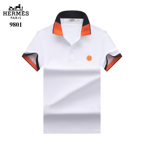 Hermes T-Shirts Short Sleeved For Men #842699