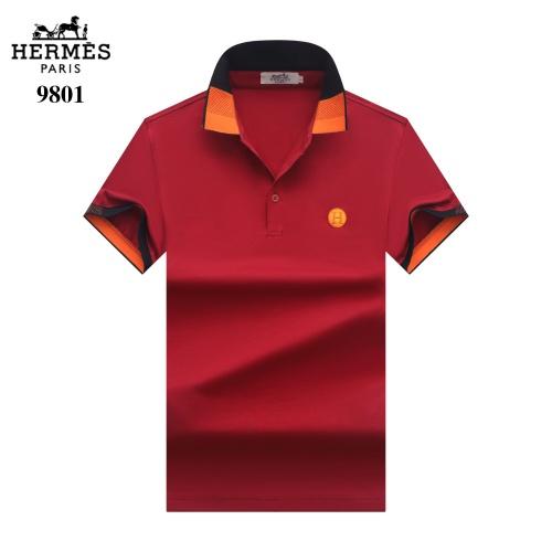 Hermes T-Shirts Short Sleeved For Men #842700