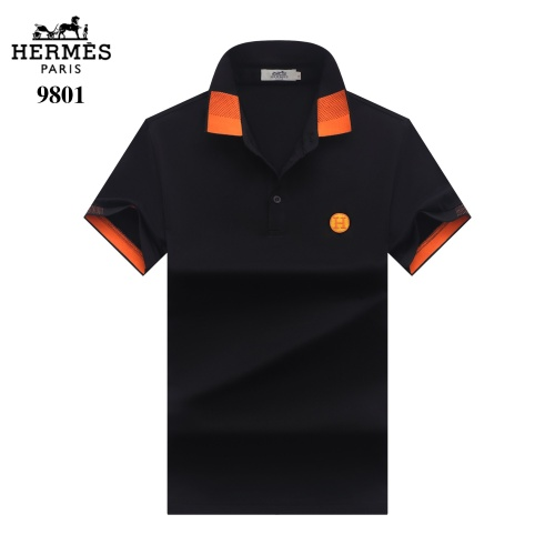 Hermes T-Shirts Short Sleeved For Men #842701 $27.00 USD, Wholesale Replica Hermes T-Shirts
