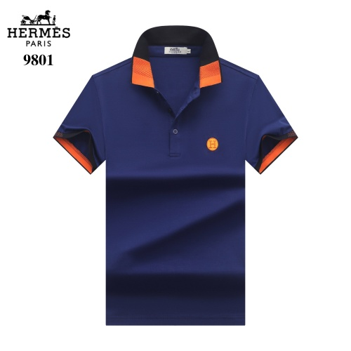 Hermes T-Shirts Short Sleeved For Men #842702