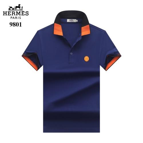 Hermes T-Shirts Short Sleeved For Men #842702 $27.00 USD, Wholesale Replica Hermes T-Shirts