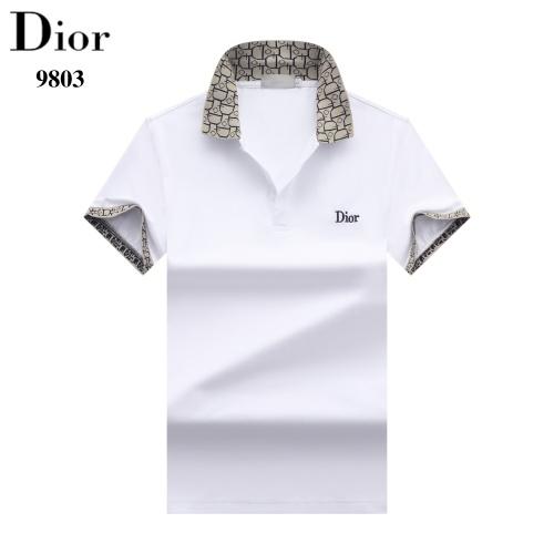 Christian Dior T-Shirts Short Sleeved For Men #842703