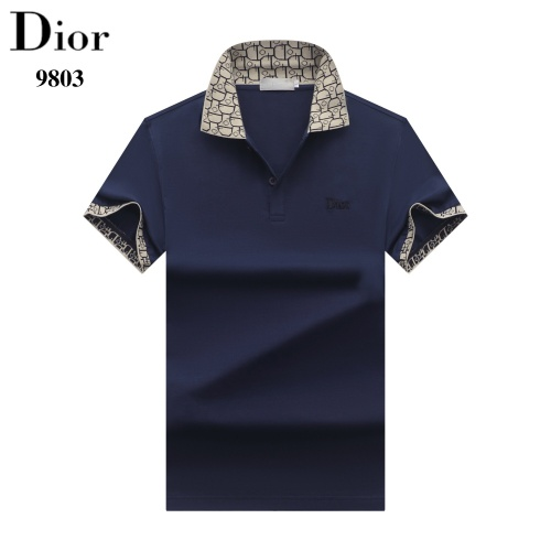Christian Dior T-Shirts Short Sleeved For Men #842704