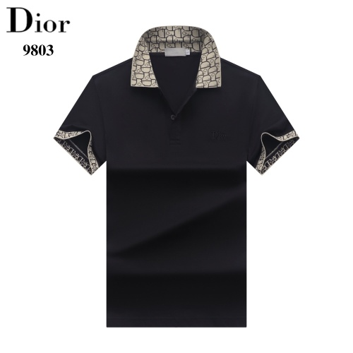 Christian Dior T-Shirts Short Sleeved For Men #842706
