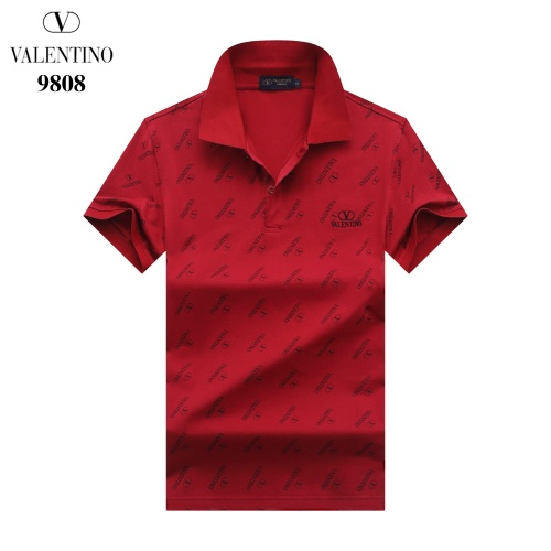 Valentino T-Shirts Short Sleeved For Men #842713 $27.00 USD, Wholesale Replica Valentino T-Shirts