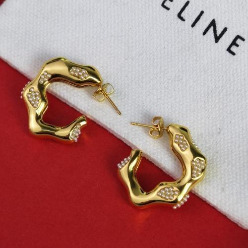 Celine Earrings #842772 $38.00 USD, Wholesale Replica Celine Earrings