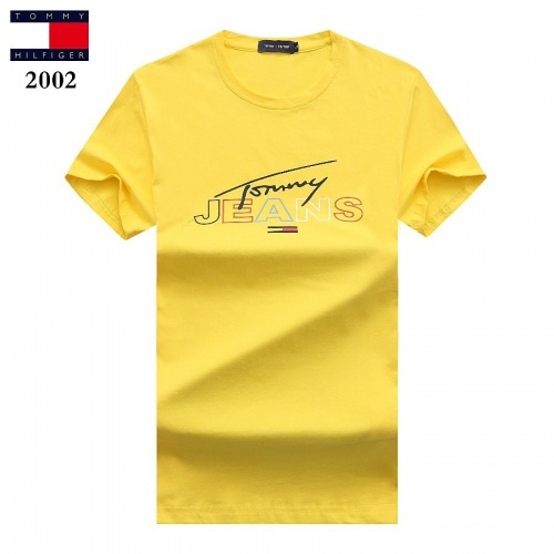 Tommy Hilfiger TH T-Shirts Short Sleeved For Men #842778 $25.00 USD, Wholesale Replica Tommy Hilfiger TH T-Shirts