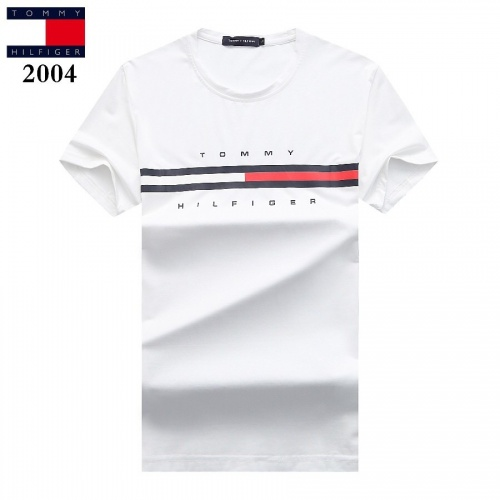 Tommy Hilfiger TH T-Shirts Short Sleeved For Men #842779 $25.00 USD, Wholesale Replica Tommy Hilfiger TH T-Shirts