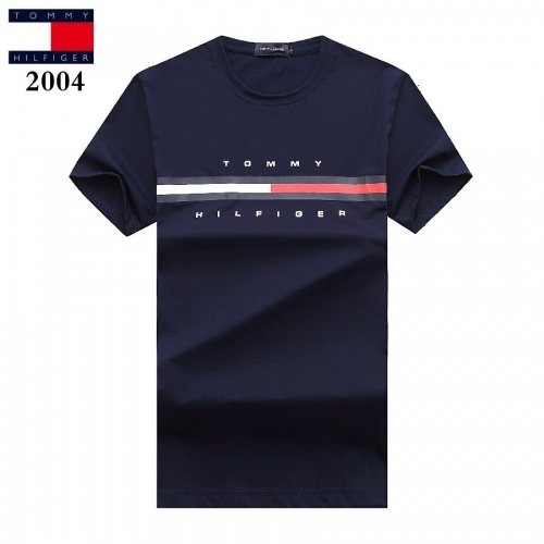Tommy Hilfiger TH T-Shirts Short Sleeved For Men #842782 $25.00 USD, Wholesale Replica Tommy Hilfiger TH T-Shirts