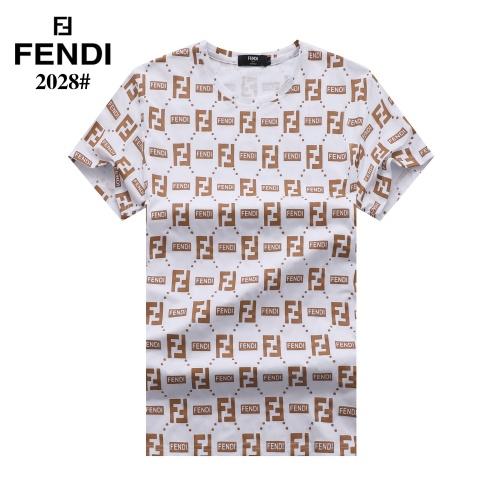 Fendi T-Shirts Short Sleeved For Men #842807