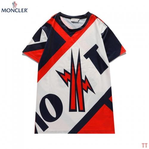 Moncler T-Shirts Short Sleeved For Men #842901