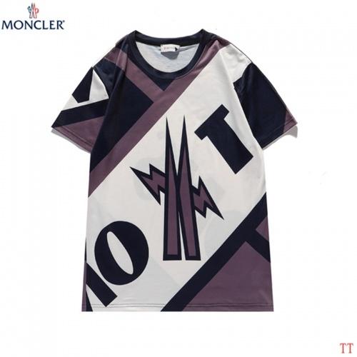 Moncler T-Shirts Short Sleeved For Men #842902